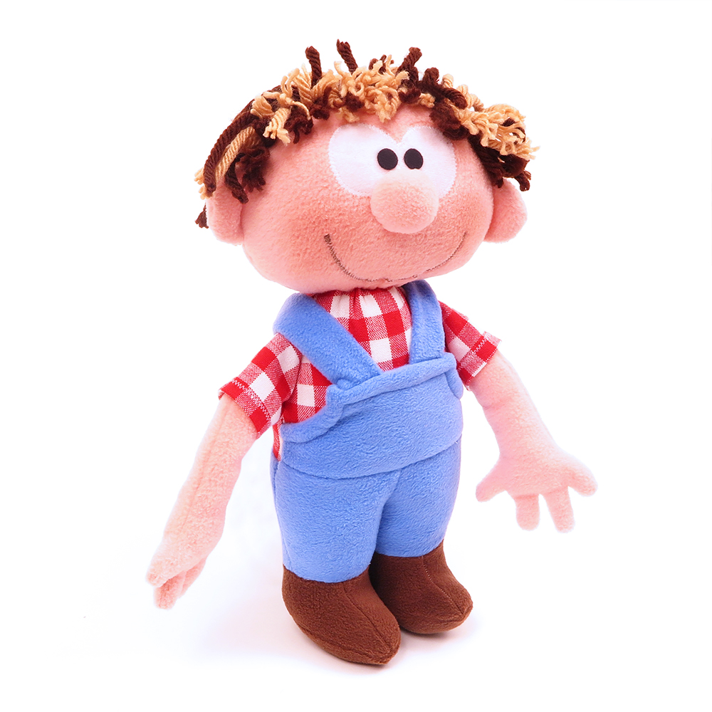Česká ručně šitá hračka – Hospodář Pepa