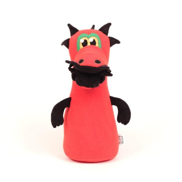 Česká ručně šitá hračka – Kuželka Tyranosaurus