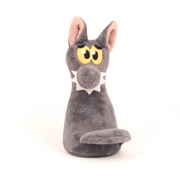 Česká ručně šitá hračka – Kuželka Vlk